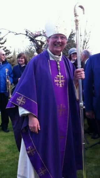 Donal McKeown, 63, was officially installed as the Catholic Bishop of Derry during a church service in the city on Sunday