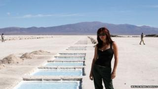 Tracy Johnson spent time in Argentina on her travels, it is claimed