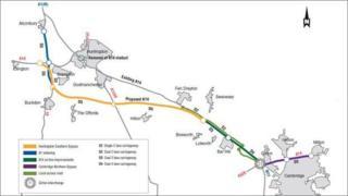 Highways Agency A14 plan 2014