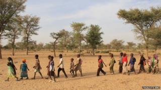 Niger struggles to provide enough school places. Education for All/ Unesco