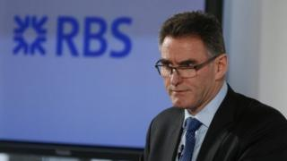 Ross McEwan, CEO of the Royal Bank of Scotland speaks during a news conference in London 27/02/14.