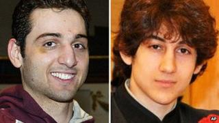 Undated photos shows Tamerlan Tsarnaev (left) and Dzhokhar Tsarnaev (right)