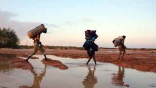 Storms in Somalia, 2013