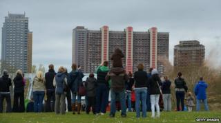 Red Road flats 2013