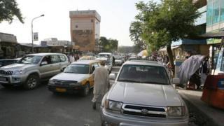 Kabul street scene 2008
