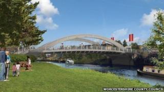 Abbey Bridge artist impression