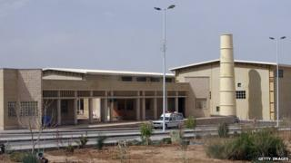 File photo: The Natanz nuclear enrichment facility, 180 miles south of Tehran, Iran, 9 April 2007