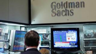 Goldman Sachs trader