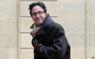 Aquilino Morelle at the Elysee Palace in Paris (file image)