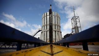 Cuadrilla shale fracking facility, Preston