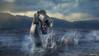 Loch Ness Monster illustration