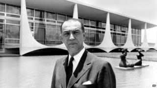 Brazil President Juscelino Kubitschek in 1960