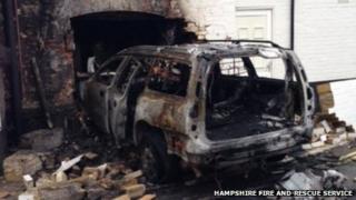 Emsworth Sailing Club fire