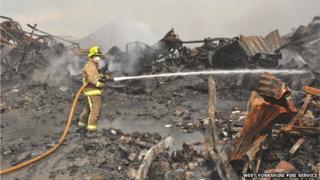 Armley fire aftermath