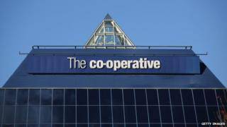 "Sign on building reads ""The Co-operative"""