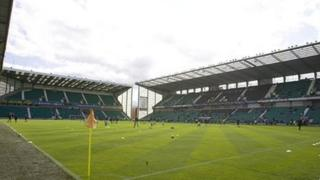 Hibs ground at Easter Road