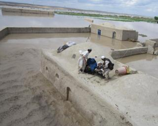 Floods in northern Afghanistan