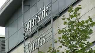 The four appeared at Laganside Magistrates Court