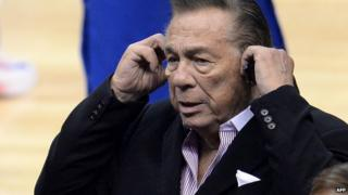 Donald Sterling. 21 April 2014
