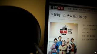 US TV shows are popular in China