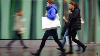 Last week, retail sales figures showed a rise of 4.2% compared with the year before.