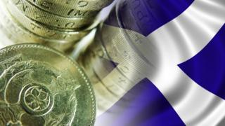 saltire and coins