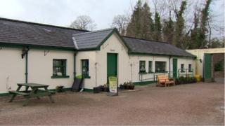 The Secret Garden charity café at Hillsborough Castle