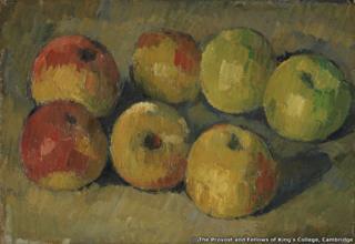 Paul Cezanne, Still Life with Apples, circa 1878, Oil on canvas, 19.0 cm x 27.0 cm