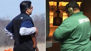 Two guns ranges
