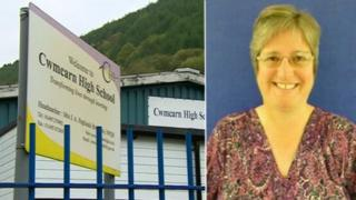 Cwmcarn school teacher Alison Cray