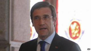 Portuguese PM Pedro Passos Coelho