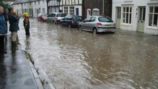 Much Wenlock flooding