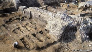 Museum of London Archaeology excavated the Royal Mint Black Death cemetery in the 80s