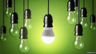 Low-energy light bulb