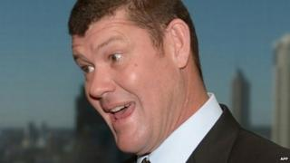 File image of James Packer from 23 July 2013