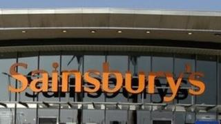 Sainsbury's supermarket in North Greenwich, London