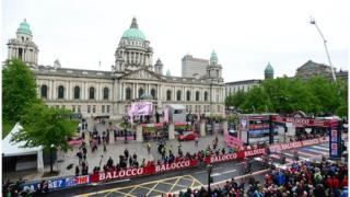 Giro d'Italia first stage