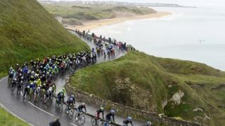 The Giro d'Italia took in some of the most scenic routes in Northern Ireland