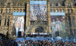 Manchester City at Albert Square