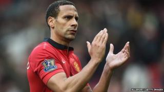 Footballer Rio Ferdinand