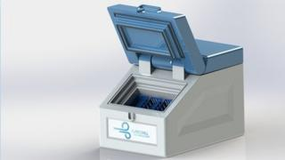 Graphic image of the proposed cooler