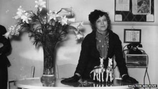 Canadian-American businesswoman Elizabeth Arden
