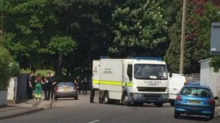 Suspicious incident in Manor Park Road