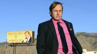 Actor Bob Odenkirk appeared in an undated scene from the final season of Breaking Bad