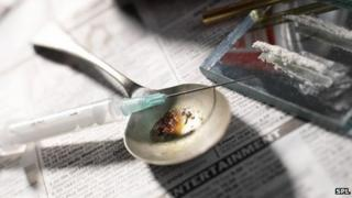 Heroin abuse