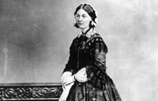Florence Nightingale circa 1858