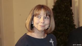 Jill Abramson at a White House event in February 2014.