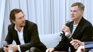 Matthew McConaughey and Gus Van Sant
