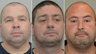 Damien Harkin, Neil Hegarty and Jason Ceulemans were each sentenced to 10 years in prison