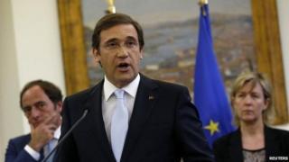 Portugal Prime Minister Pedro Passos Coelho